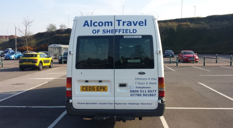 Alcom Travel of Sheffield Minibus
